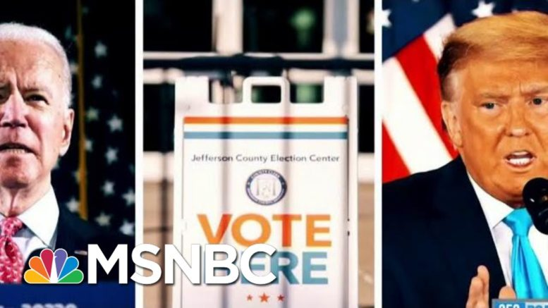 The Impact Of The Latino Vote On The 2020 Race | Morning Joe | MSNBC 1