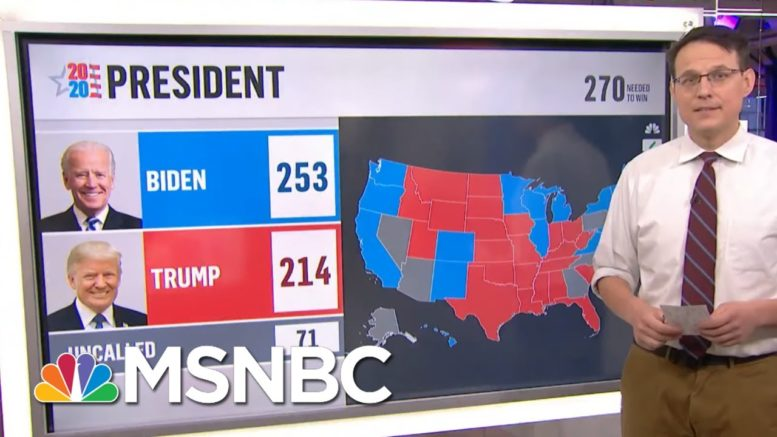 Nevada Vote Count Update Adds Increase To Biden's lead In State | MSNBC 1