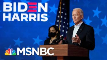 Joe Biden Says He Has 'No Doubt' Sen. Harris, He Will Be Declared Winners In Election | MSNBC 6