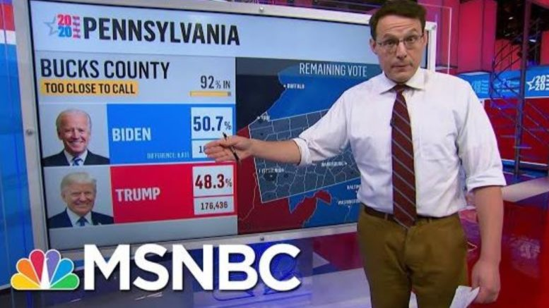 State Of The Race: Tight In Georgia, Opportunities For Biden In Pennsylvania | MSNBC 1