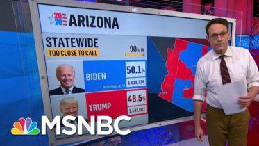 Kornacki: Trump 'Remains In Contention To Win' Arizona | MSNBC 6