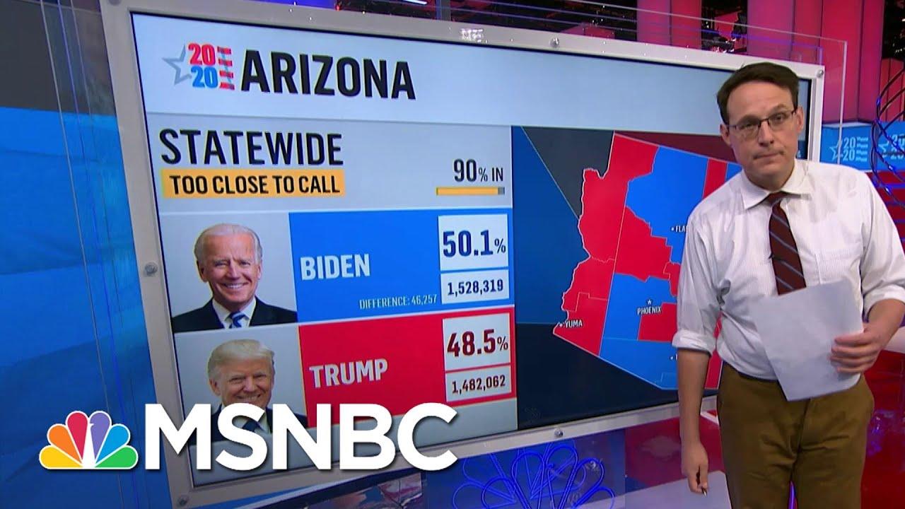 Kornacki: Trump 'Remains In Contention To Win' Arizona   MSNBC 8