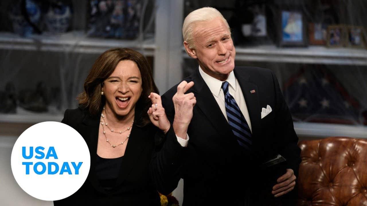 'SNL' mocks Biden in Halloween election story | USA TODAY 5