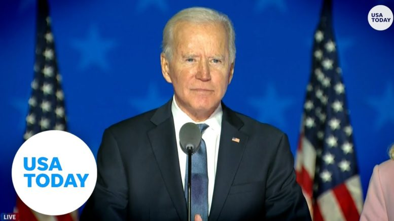 Biden: 'We're on track to win this election' | USA TODAY 1