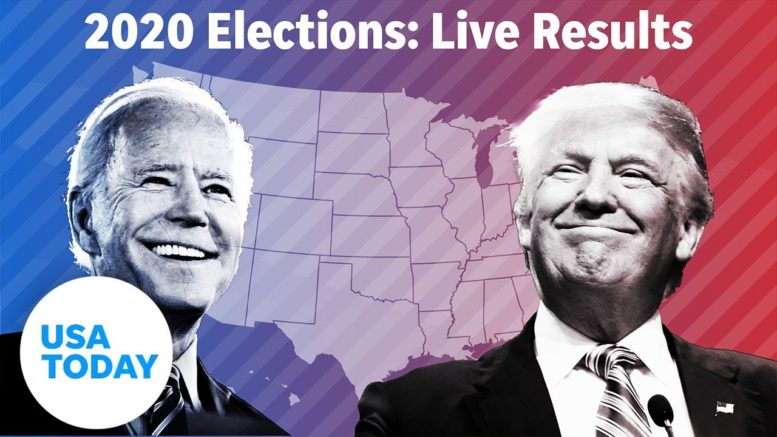 Election 2020 Results: Swing states still being decided in race between Trump and Biden | USA TODAY 1