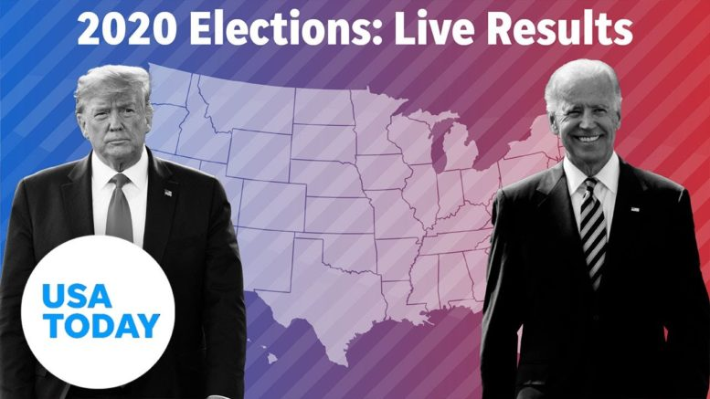 WATCH: Election results for Trump, Biden and key swing state races   USA TODAY 1