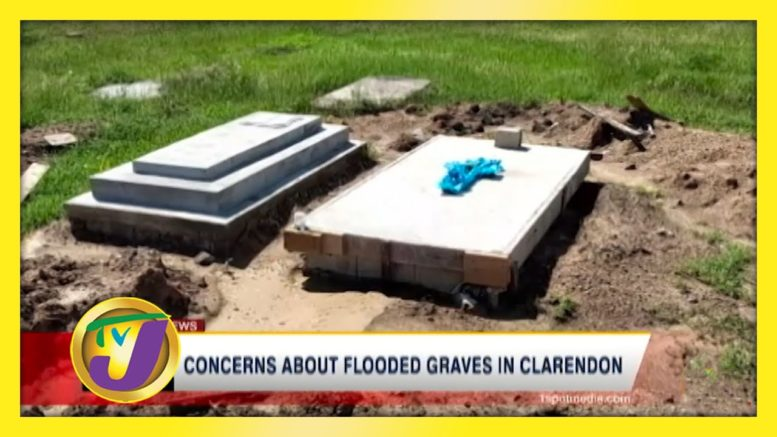 Concerns about Flooded Graves in Clarendon - October 31 2020 1