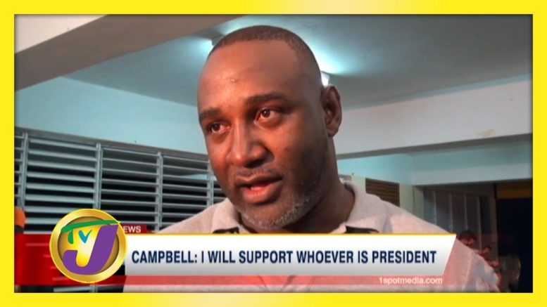 Campbell: I Will Support whoever is President - November 1 2020 1