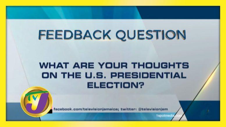 TVJ News: Feedback Question - November 2 2020 1