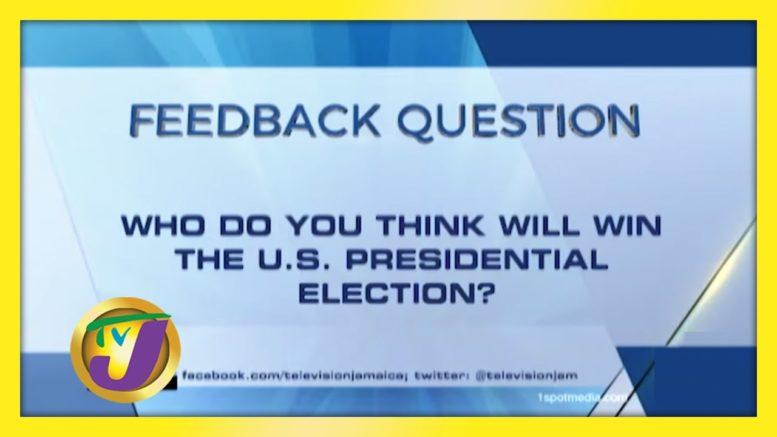 TVJ News: Feedback Question - November 3 2020 1