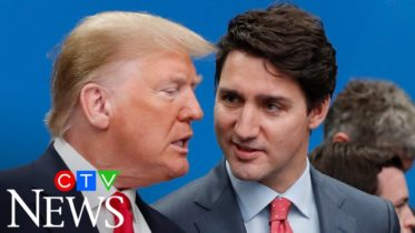 Here's a look at the volatile relationship between Donald Trump and Justin Trudeau 6