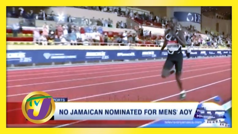 No Jamaican Nominated for Men's A.O.Y - November 3 2020 1