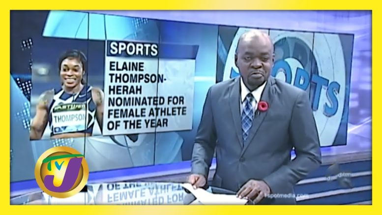 Elaine Thompson-Hersh Among 10 Nominees for Female A.O.Y - November 3 2020 1