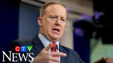 Does Sean Spicer think U.S. President Donald Trump can win a second term? 4
