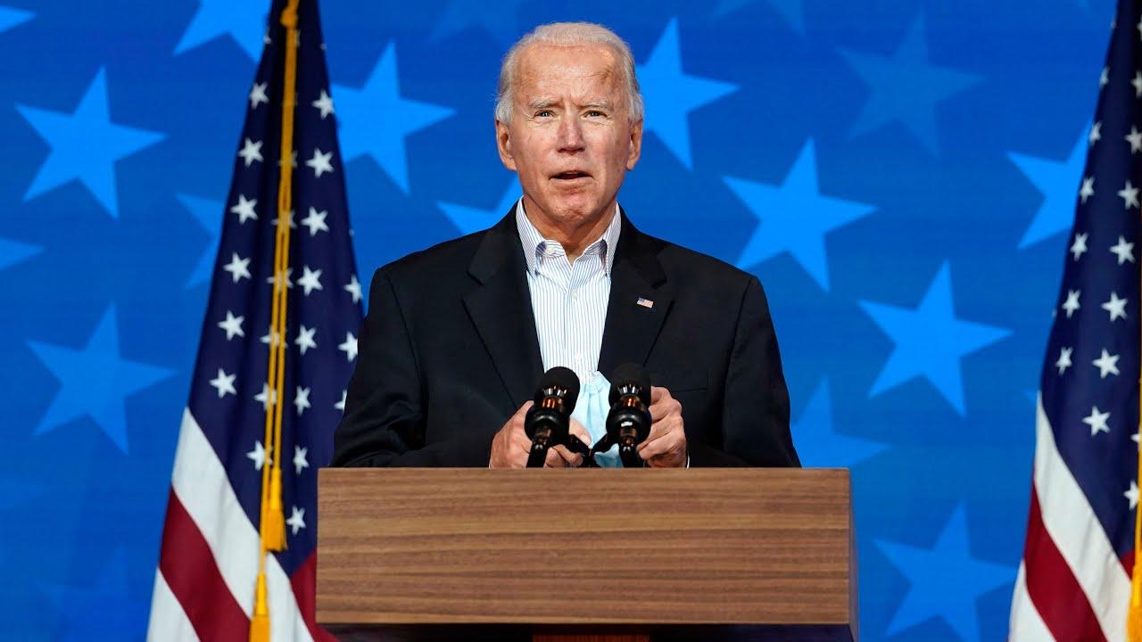 Joe Biden is on the verge of winning the presidency, will address nation from Delaware 1