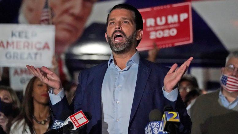 "GOP strategist predicts Trump Jr. will run in 2024: ""He's a flamethrower"" 1"