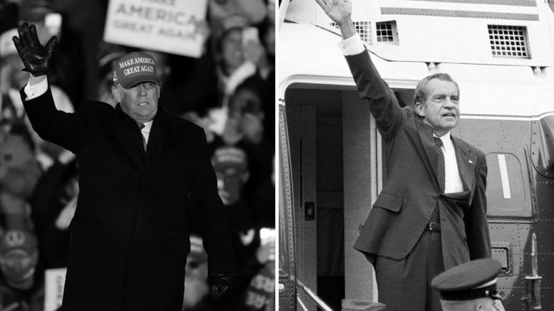 'Even Nixon went quietly': Could Trump become a 'shadow' president? 1