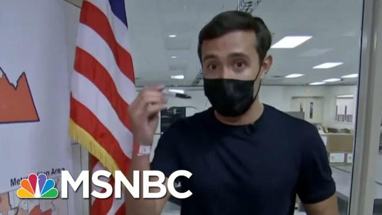 Gadi Schwartz Debunks 'Sharpiegate' Election Conspiracy Theory | Rachel Maddow | MSNBC 1