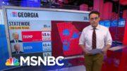 Kornacki: Trump And Biden Close To A Tie In Georgia   MSNBC 3