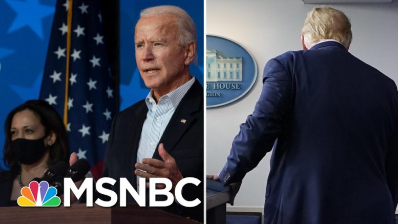 Biden Closes In On 270 As Trump Sows Chaos With Election Attacks | The 11th Hour | MSNBC 1
