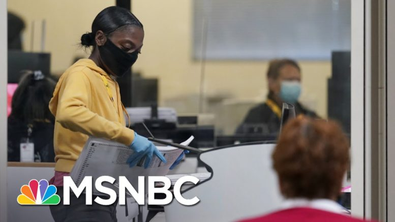 New Lawsuit Filed In Nevada As Ballot Counting Continues   The 11th Hour   MSNBC 1
