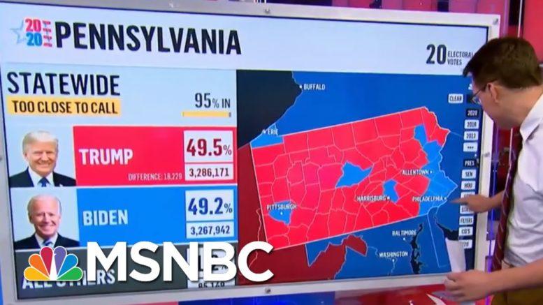 Joe Biden Gains Ground In Pennsylvania | Morning Joe | MSNBC 1
