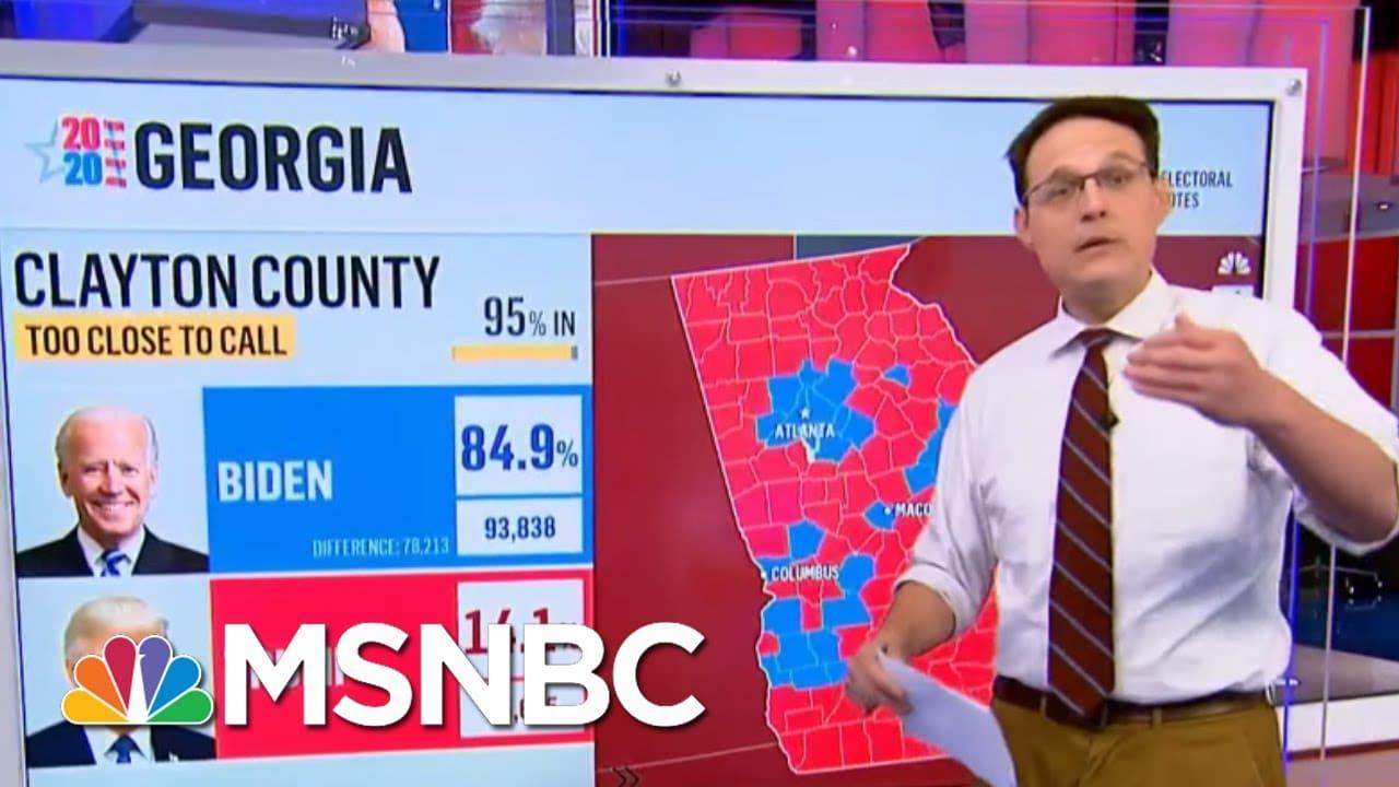 Joe Biden Takes The Lead In Georgia   Morning Joe   MSNBC 8