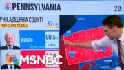 Joe Biden Takes The Lead In Pennsylvania Vote Count Friday Morning | Morning Joe | MSNBC 3