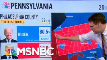 Joe Biden Takes The Lead In Pennsylvania Vote Count Friday Morning | Morning Joe | MSNBC 6