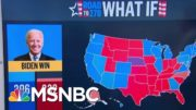 What Is The Electoral Count If Biden Wins The States Where He Leads? | Morning Joe | MSNBC 5