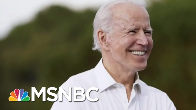 Joe From February: 'No Matter How This Race Ends, I'm Proud Of Joe Biden' | Morning Joe | MSNBC 1