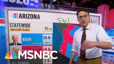 Updated Maricopa Vote Count Shows Why Trump May Not Catch Biden In Arizona | Craig Melvin | MSNBC 6