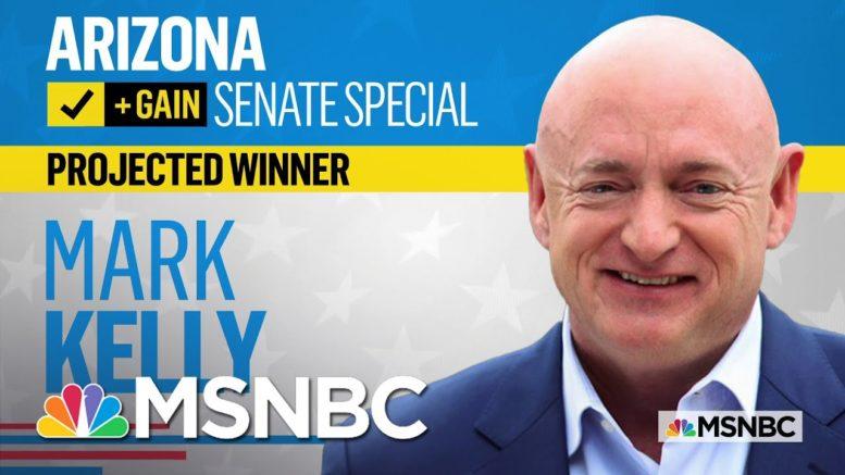 NBC News Projects Mark Kelly Will Win Arizona Senate Special Election | MSNBC 1