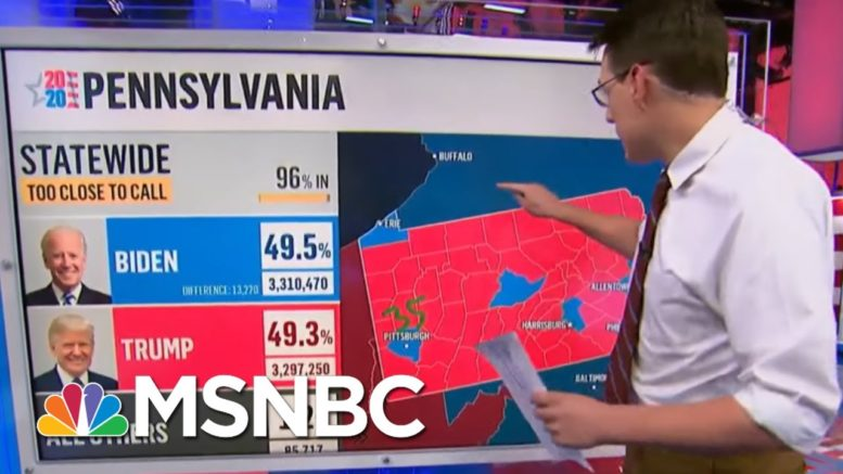 Why Haven't We Called Pennsylvania? Kornacki Breaks Down The Uncertainty | MSNBC 1