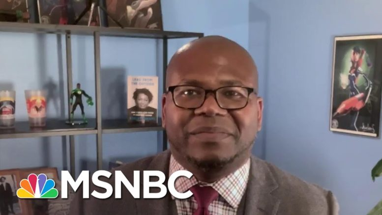 Jason Johnson: If Trump Was Winning He 'Would Be Doing Donuts On The WH Lawn' | Deadline | MSNBC 1