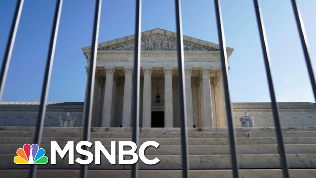 Supreme Court Rejects GOP Request To Halt Mail-In Ballot Count In Pennsylvania | The ReidOut | MSNBC 1