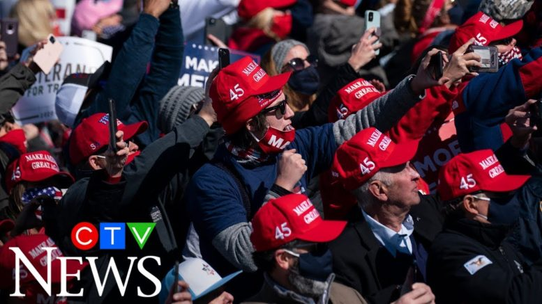 Trump rallies are linked to COVID-19 outbreaks says study 1
