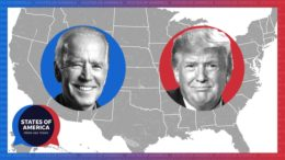 Why is the presidential election so close?   States of America 4