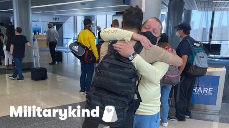 Family flies to see sailor son for a few hours | Militarykind 1