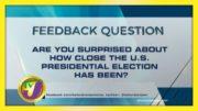 TVJ News: Feedback Question - November 6 2020 2