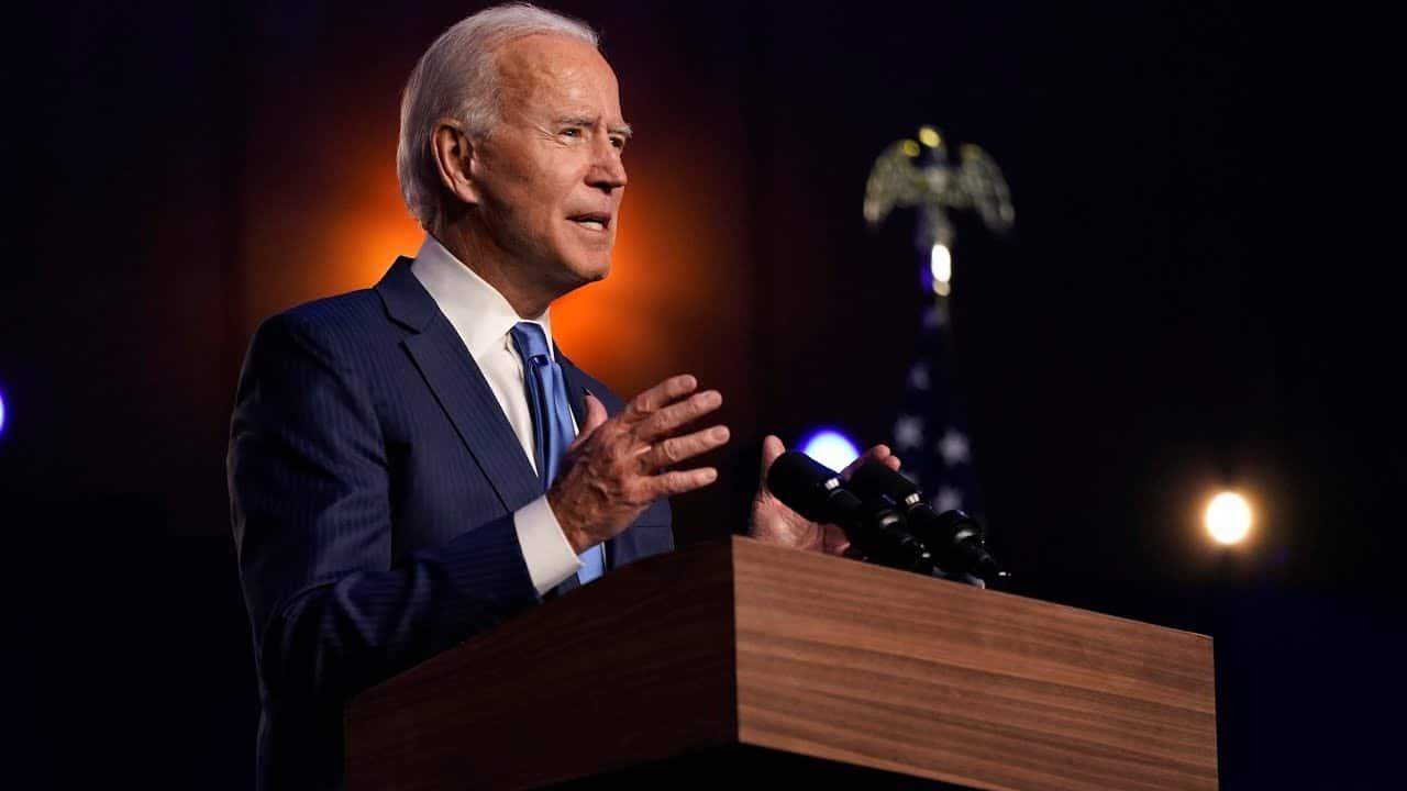 Biden speaks in Delaware: 'We're going to win this race' 7