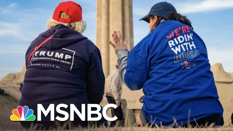 What It Means That American Remains A Very Divided Nation | The 11th Hour | MSNBC 1