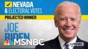NBC News Projects Biden Will Win Nevada | MSNBC 5