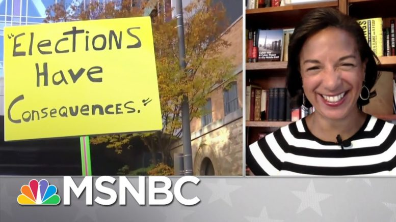 Susan Rice: 'I Am Full of Joy' | MSNBC 1