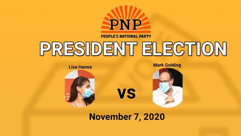PNP - President Election  - November 7, 2020 1