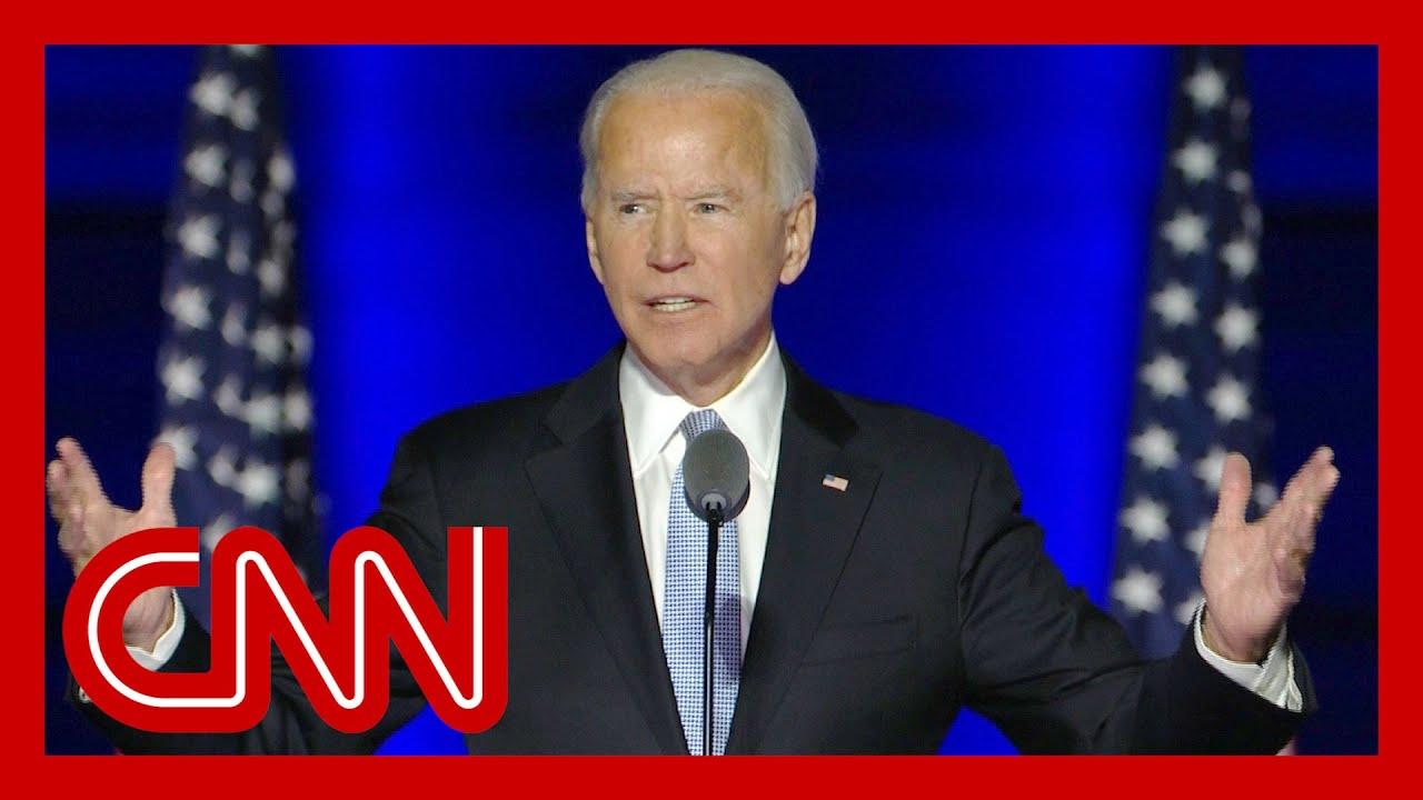 Joe Biden addresses the nation after election victory 7