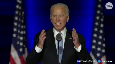President-elect Joe Biden delivers address upon winning enough votes to take White House | USA TODAY 6