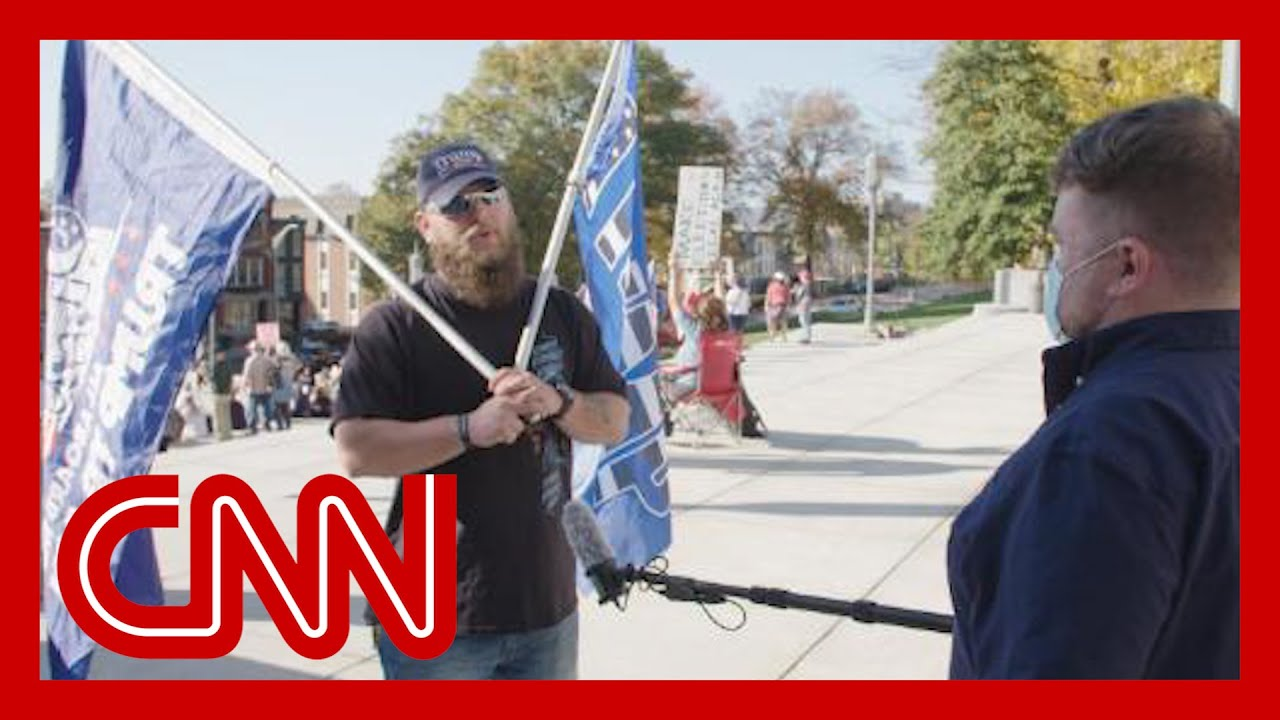 These Trump supporters think the election was stolen. We ask them why 4