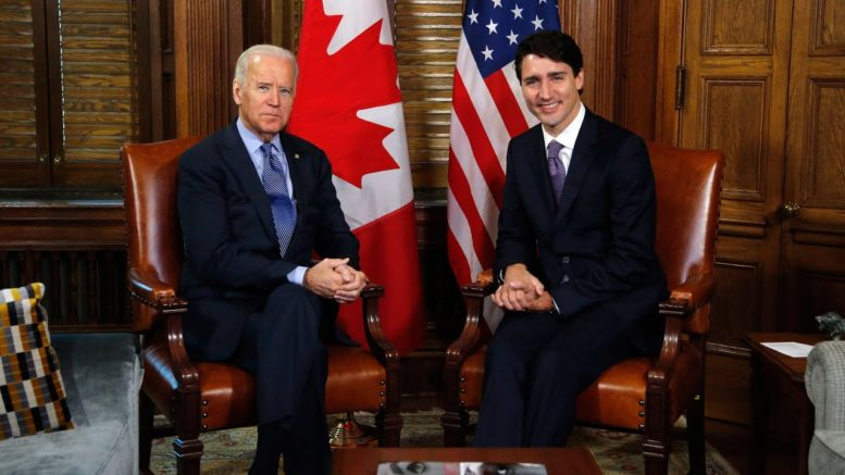 Prime Minister Trudeau says he congratulated U.S. President-elect Joe Biden 1