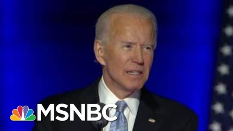 Joe: Now Is The Time To Bring The Country Together | Morning Joe | MSNBC 1